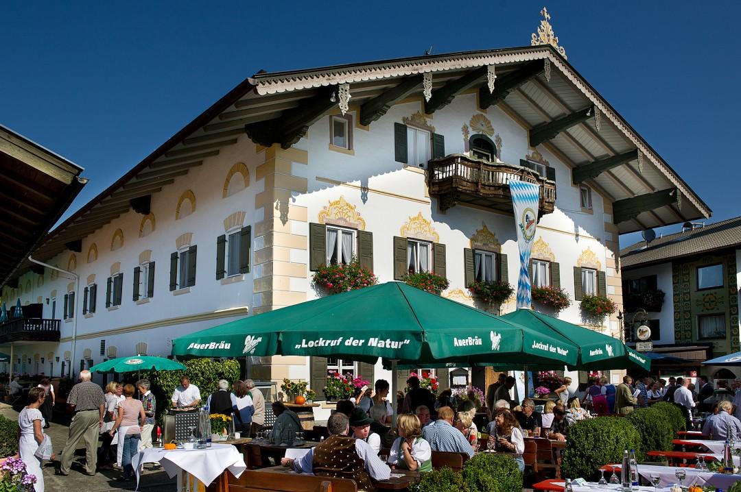 Typisch bayerisch: die Samerberger Gastronomie