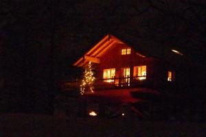 Baumhaus Samerberg - Übernachtung im Winter